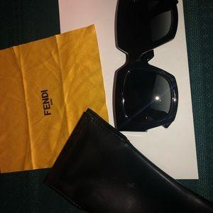 Fendi sunglasses with case